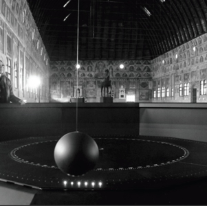 Video and documents Foucault Pendulum Padova